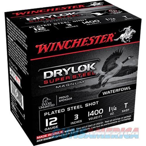 "Winchester Ammo Xsc123t Drylock 12 Gauge 3"" 1-1/4 Oz T Shot 25 Bx/ 10 Cs XSC123T  Non-Guns > Ammunition"