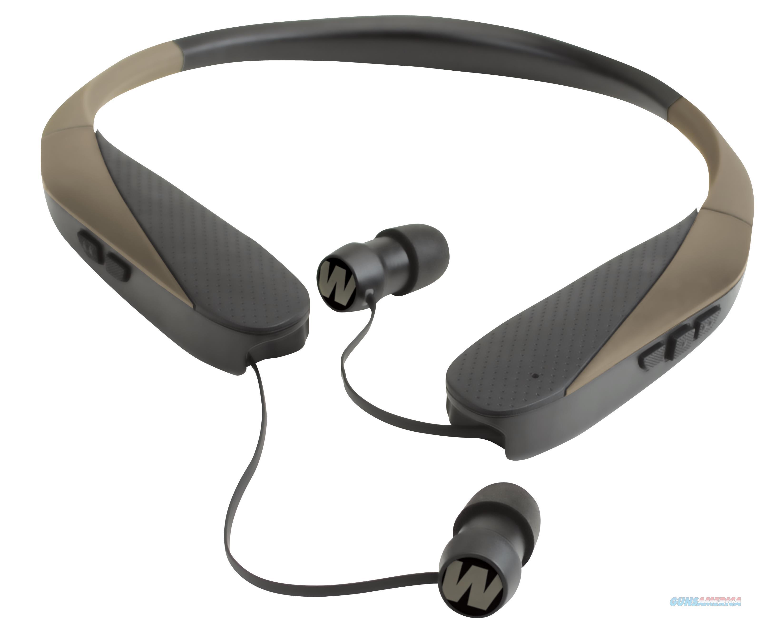 Walkers Game Ear Gwpnhebt Razor Xv W/Bluetooth Electronic 31 Db Flat Dark Earth GWPNHEBT  Non-Guns > Hunting Clothing and Equipment > Clothing > Camo Outerwear