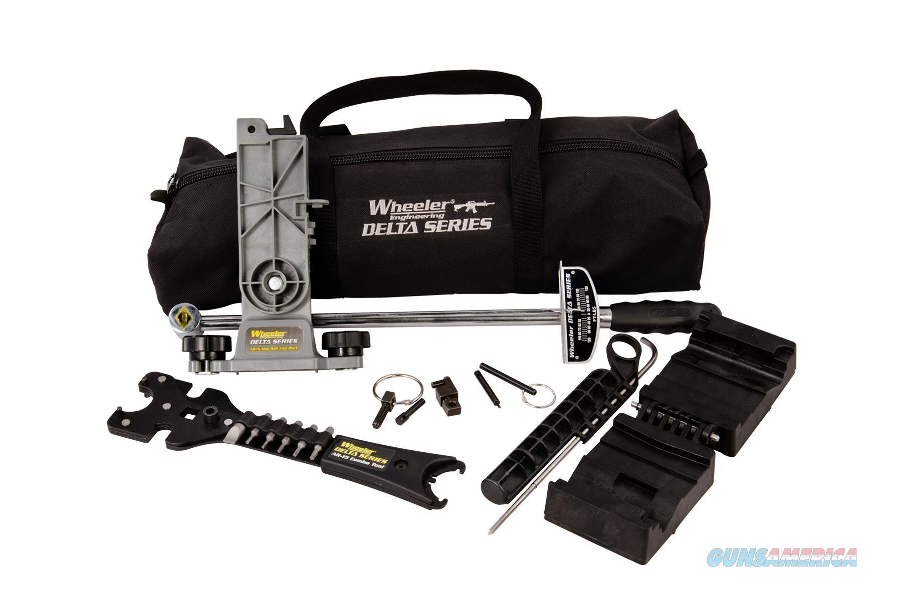 Wheeler 156.111 Ar Armorers Essentials Kit Delta Series 156111  Non-Guns > Gunsmith Tools/Supplies