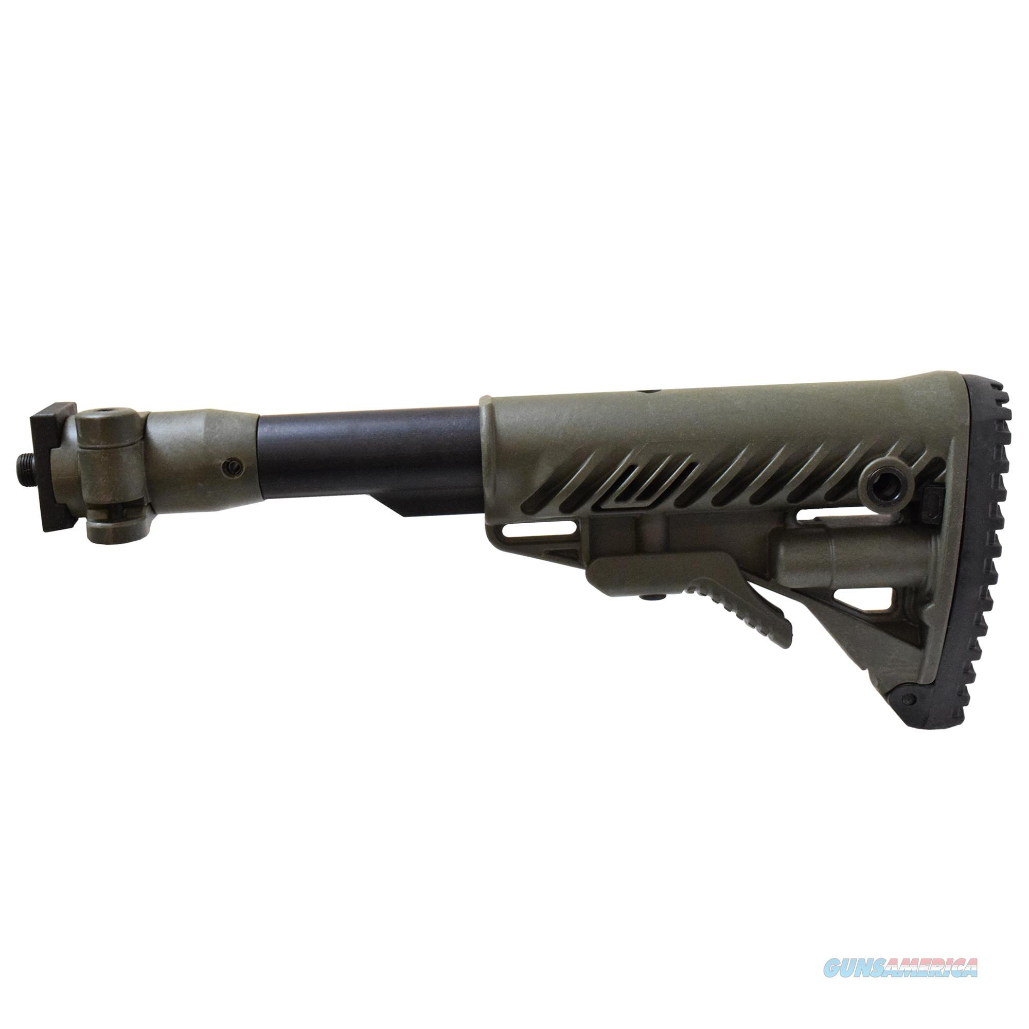 Mako Group Folding Collapsible Buttstock System M4VZP-OD  Non-Guns > Gunstocks, Grips & Wood