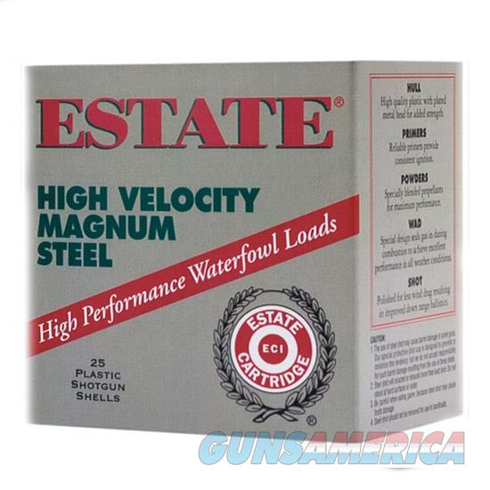 Estate Cartridge Steel Mag Hv 12Ga #3 3 1.25Oz          25/10 HVST12M 3  Non-Guns > Ammunition