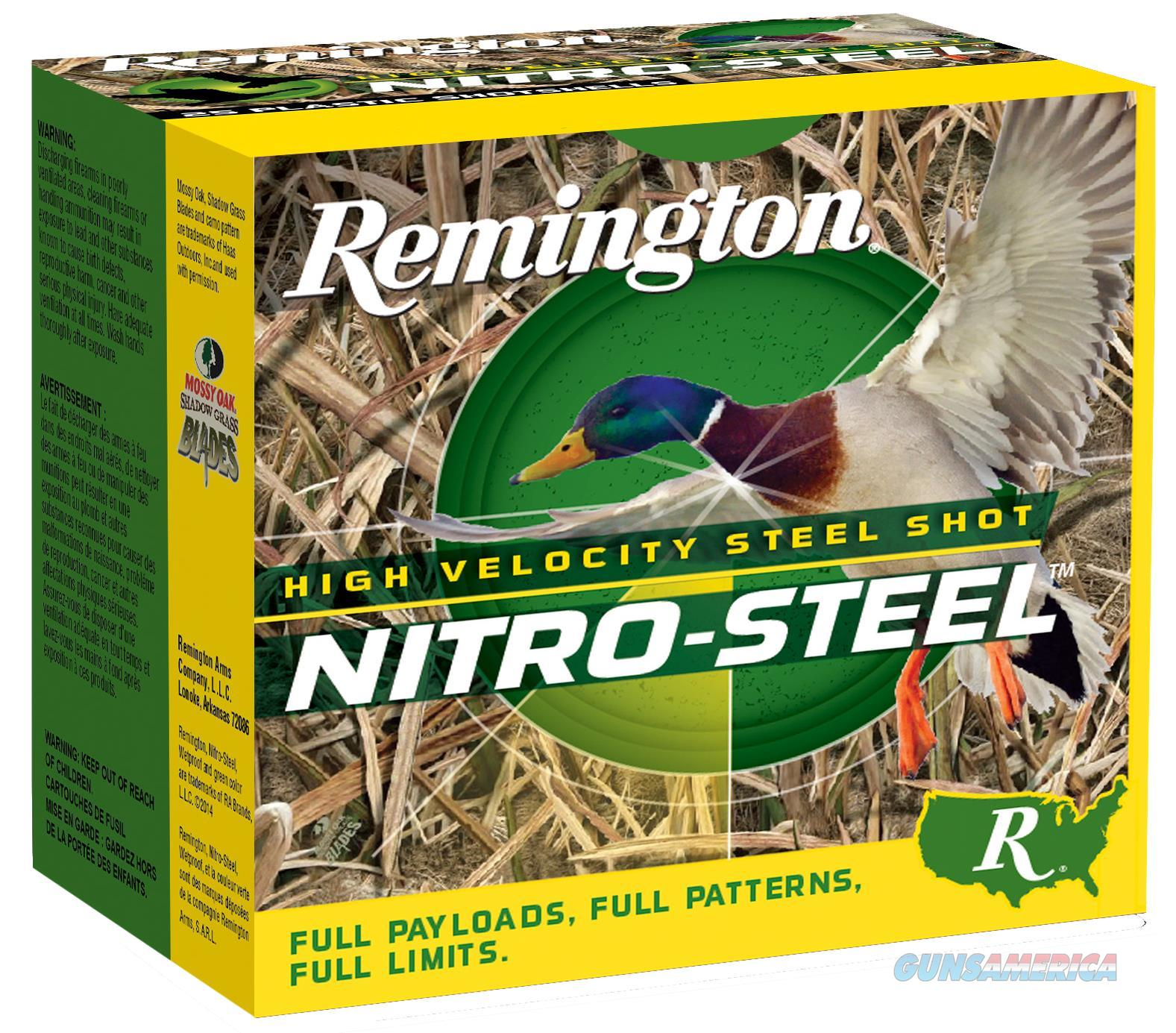 "Remington Ammunition Nsi12352 Nitro 12 Gauge 3.5"" 1-1/2 Oz 2 Shot 25 Bx/ 10 Cs NSI12352  Non-Guns > Ammunition"