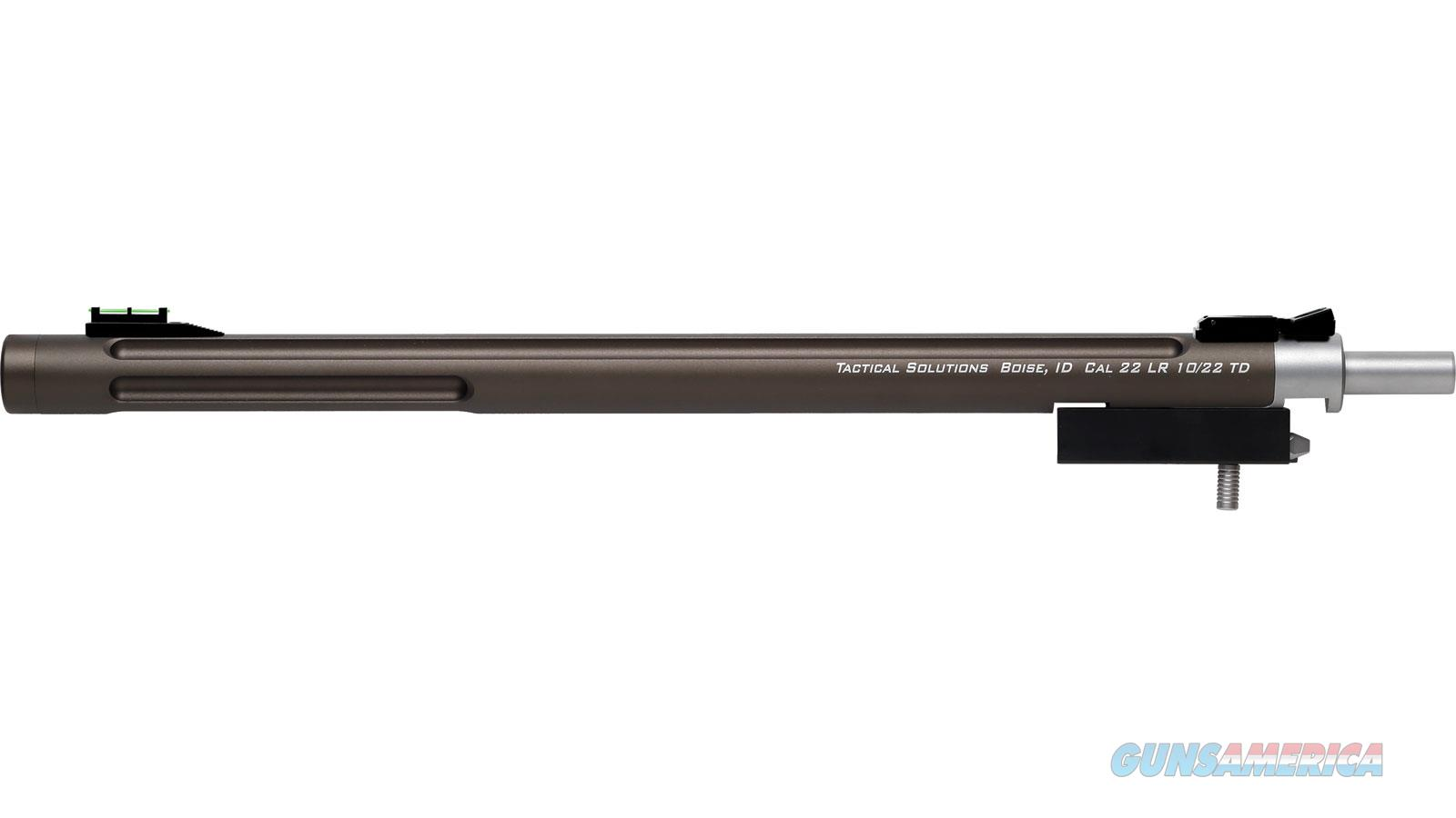 Tactical Solutions Bbl 10/22 16.5 Takedown Thrd Bull Fos 1022TD-MOD  Non-Guns > Barrels