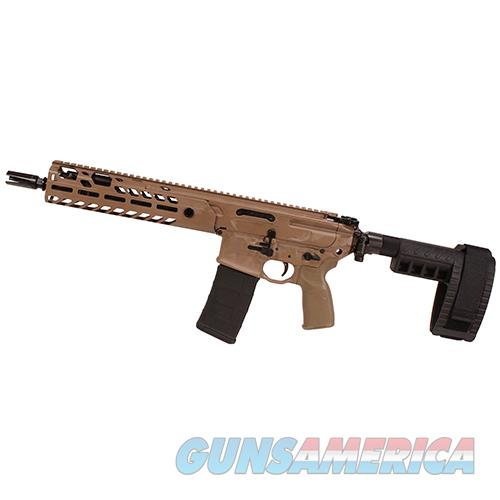 "Sig Sauer Mcx, 5.56Mm Nato, 11.50"" Barrel, 30 Rounds, Flat Dark Earth PMCX-11B-TAP-FDE  Guns > Pistols > S Misc Pistols"