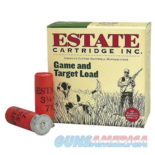 "Estate Gtl128 Promo Game & Target 12 Ga 2.75"" 1 Oz 8 Shot 25 Bx/ 10 GTL128  Non-Guns > Ammunition"