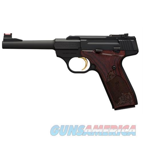 "Browning 051519490 Buck Mark Challenge  22 Long Rifle (Lr) Single 5.5"" 10+1 Rosewood Grip Black Aluminum Alloy Frame/Slide 051519490  Guns > Pistols > B Misc Pistols"