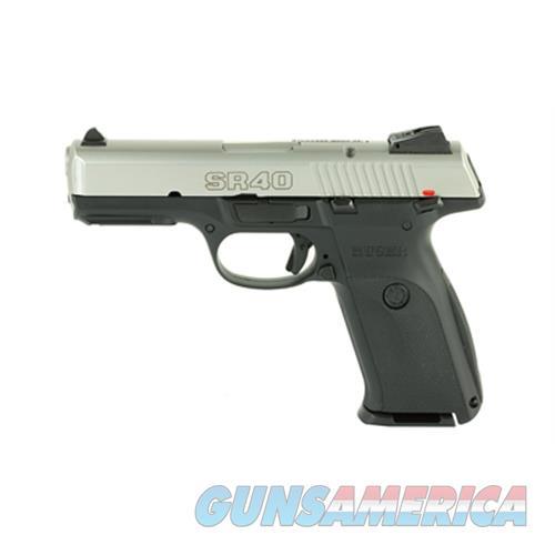 """Ruger Sr40 40Sw 4.1"""" Sts 10Rd 3472  Guns > Pistols > R Misc Pistols"""