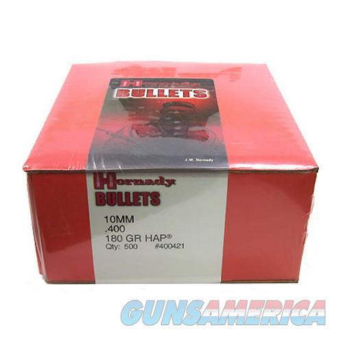 "Hornady 10Mm (0.400"" Diameter) Bullets 400421  Non-Guns > Reloading > Components > Bullets"