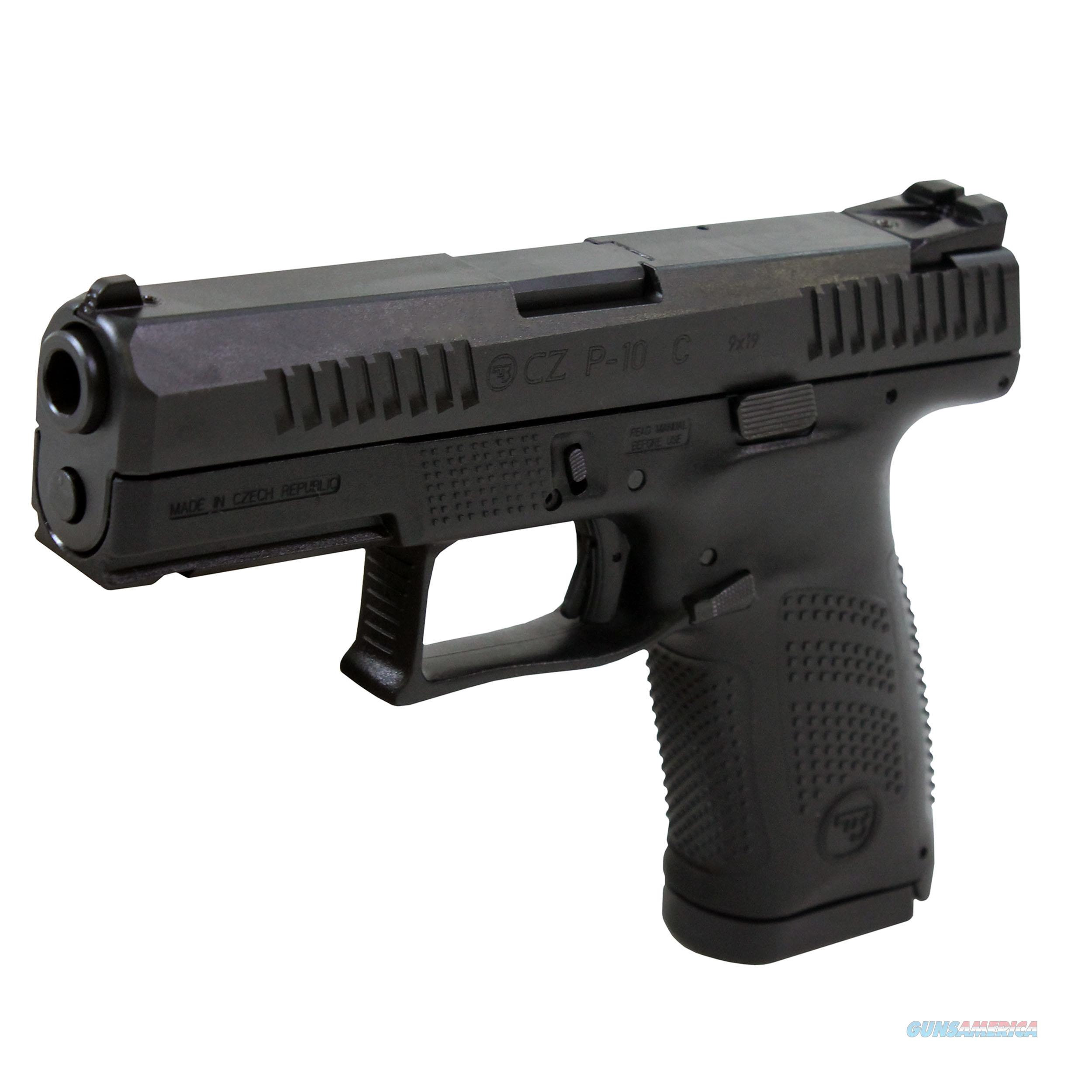 Czusa P-10 Compact 9Mm Fs 15-Shot Polymer Black Polycote ! 91520  Guns > Pistols > C Misc Pistols