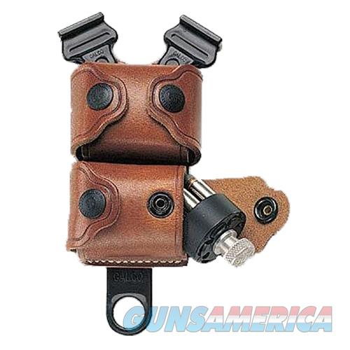 Galco Ssl32 Speedloader Case Holds 2 Speedloaders Tan Leather SSL32  Non-Guns > Holsters and Gunleather > Other