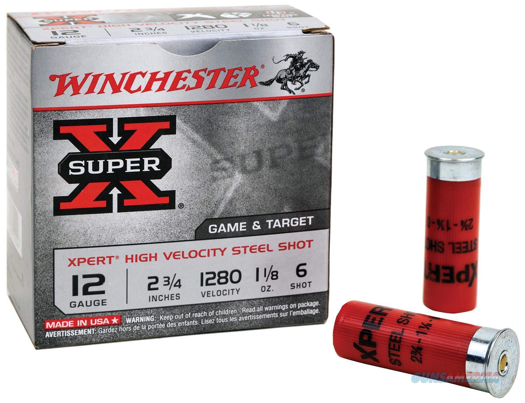 Winchester Super-X Xpert Hv Steel 28Ga 2.75'' 5/8Oz #6 25/Bx WE28GT6  Non-Guns > Ammunition