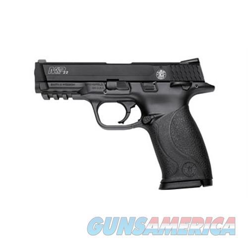 "Smith & Wesson 222000 M&P 22 Single 22 Long Rifle (Lr) 4"" Tb 12+1 Black Polymer Grip/Frame Black Aluminum Alloy 222000  Guns > Pistols > S Misc Pistols"