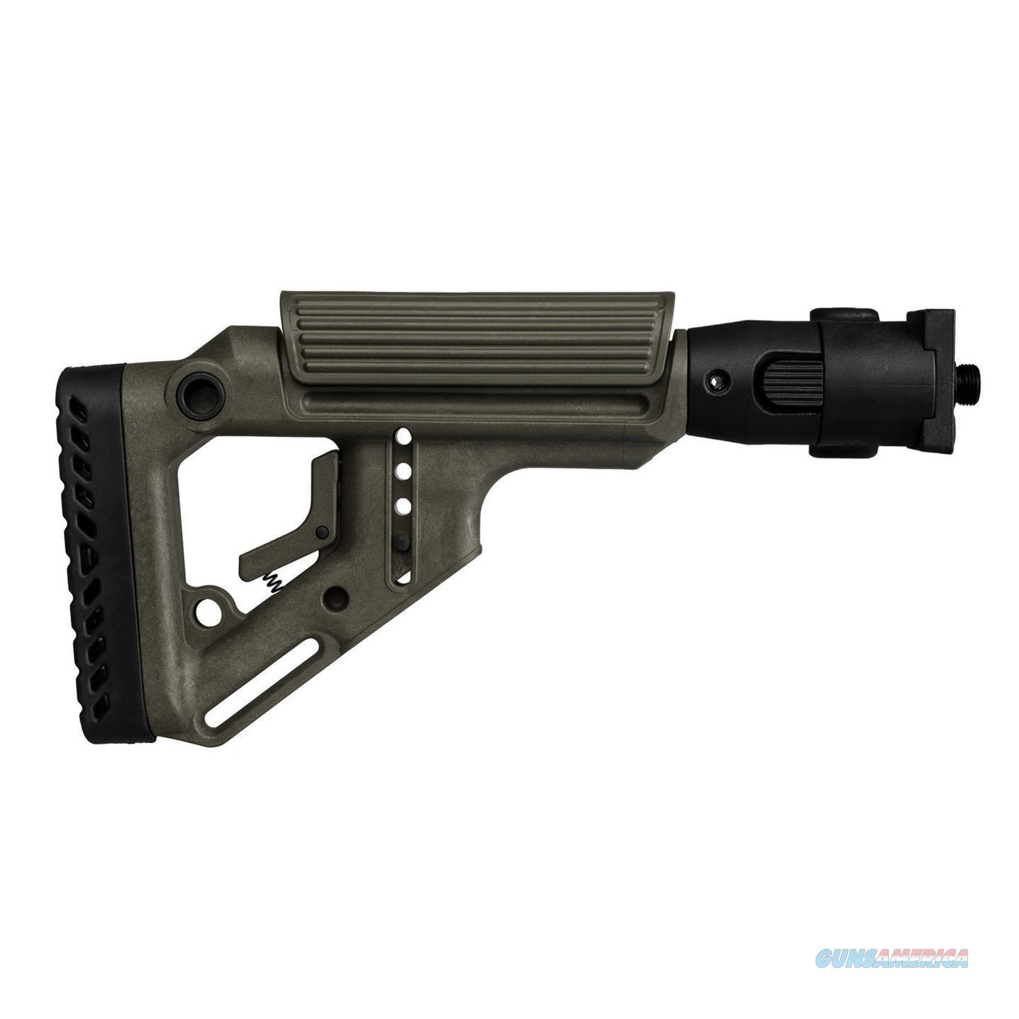 Mako Group Tactical Folding Buttstock UAS-VZ-OD  Non-Guns > Gunstocks, Grips & Wood