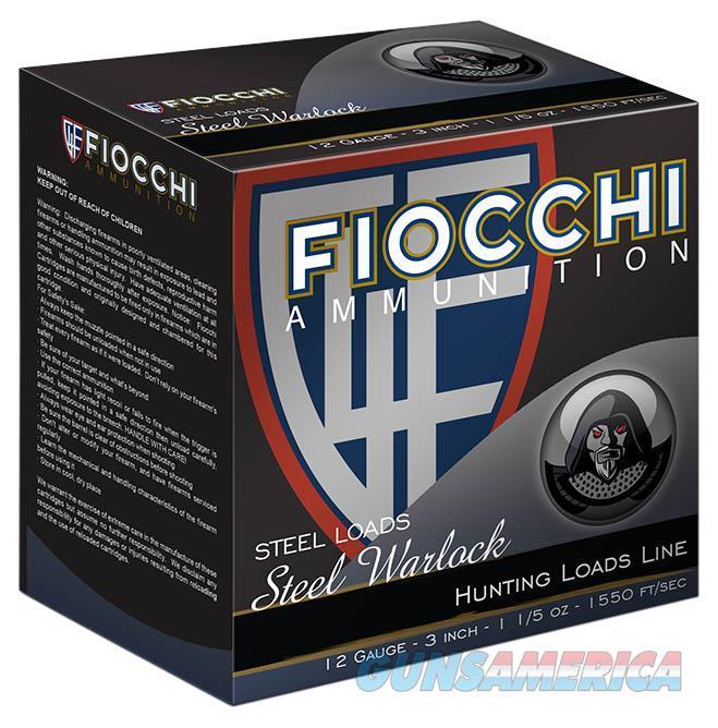 "Fiocchi 123St153 Shooting Dynamics 12 Gauge 3"" 1-1/5 Oz 3 Shot 25 Bx/ 10 Cs 123ST153  Non-Guns > Ammunition"