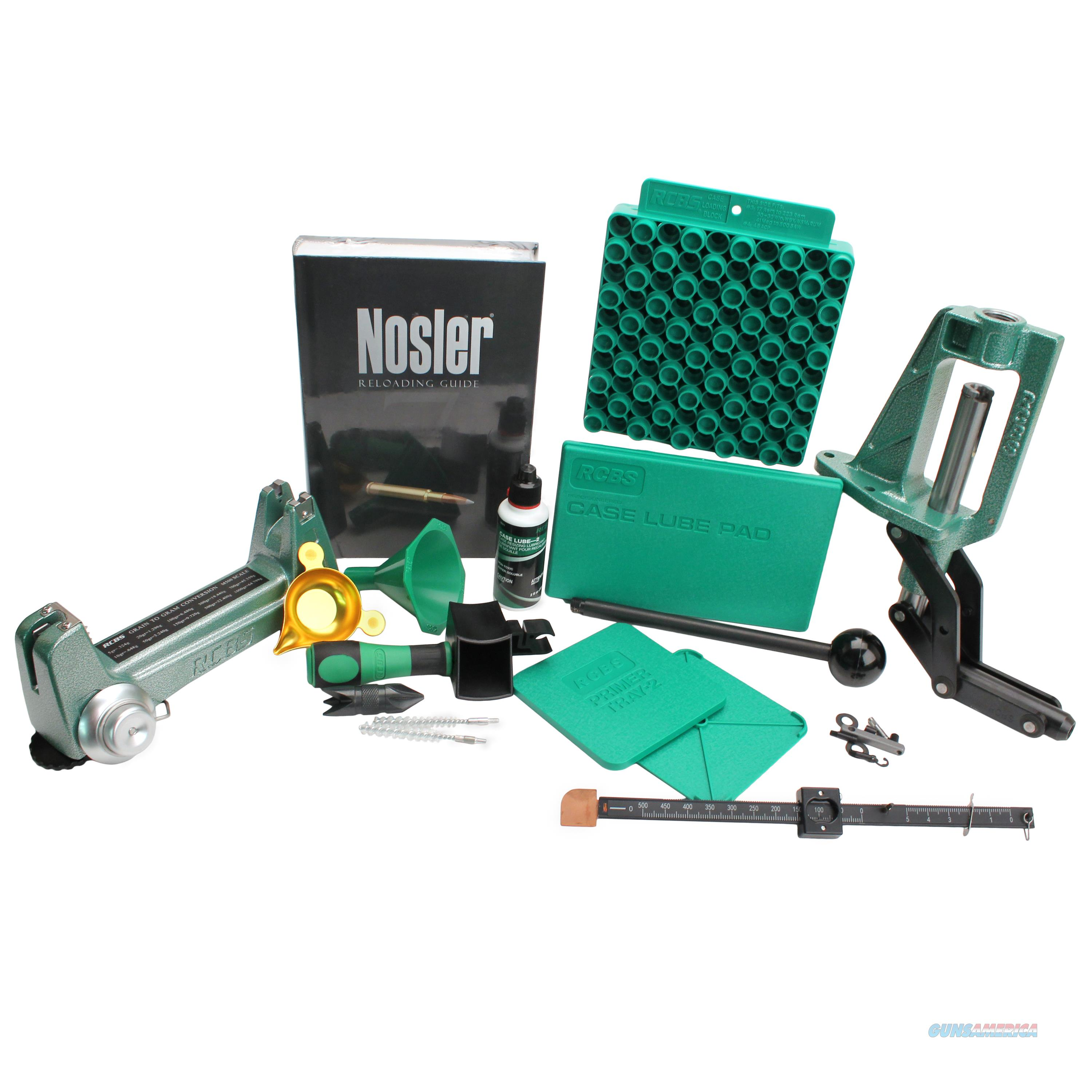 Rcbs Partner Press Reloading Kit 87469  Non-Guns > Reloading > Equipment > Metallic > Misc