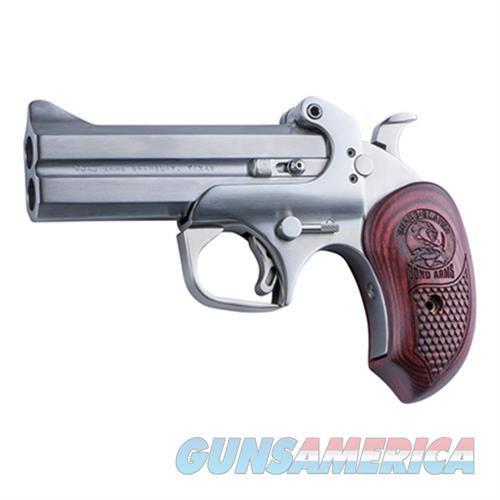 "Bond Arms Bass4 Snakeslayer Iv Derringer Single 45 Colt (Lc)/410 Gauge 4.25"" 2 Round Stainless BASS4  Guns > Pistols > B Misc Pistols"