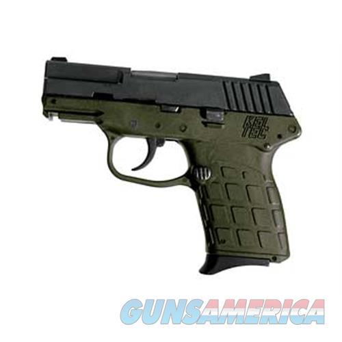 Keltec Pf9 9Mm Da Fs 7Rds Blued/Od Green Grip PF9BGRN  Guns > Pistols > K Misc Pistols