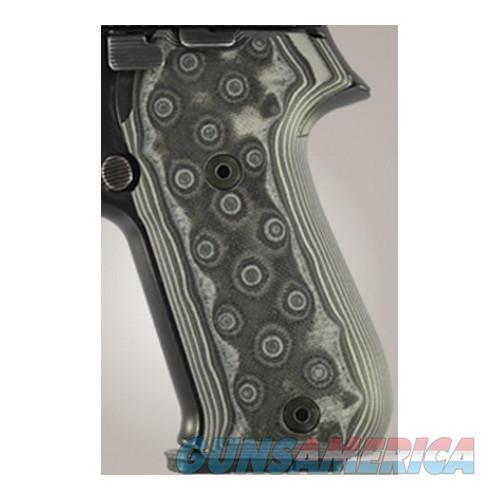 Hogue Sig P220 American Grips 20167-BLKGRY  Non-Guns > Gunstocks, Grips & Wood