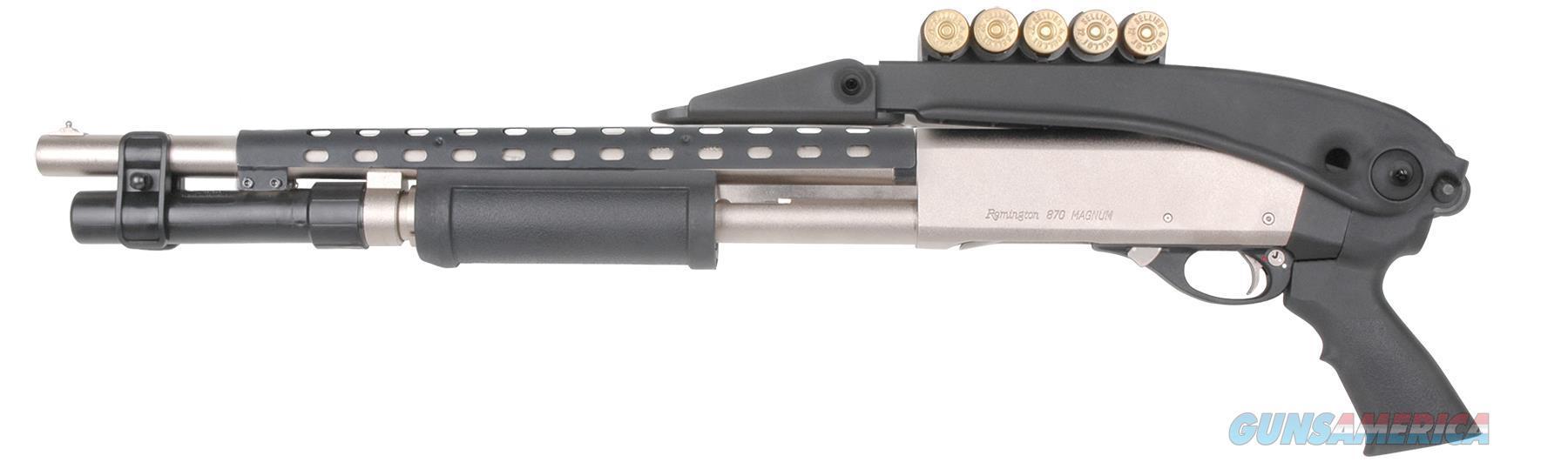 Advanced Technology Tfs0600 Shotforce Mossberg 500/590 Shotgun Glass Reinforced Polymer Black TFS0600  Non-Guns > Gun Parts > Misc > Rifles