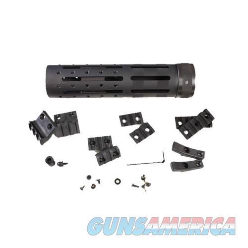 Hogue Ar15 Knurled Aluminum 3 Gun Free Floating Forend Extension 15066  Non-Guns > Gun Parts > Misc > Rifles