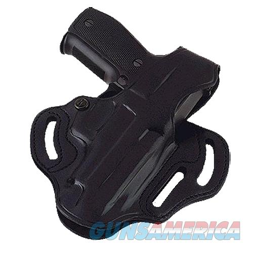 """Galco Cts224b Cop 3 Slot 224B Fits Belts Up To 1.75"""" Black Leather CTS224B  Non-Guns > Holsters and Gunleather > Other"""