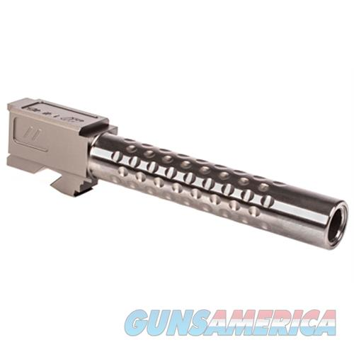 Zev Technologies Zev Barrel For G17 Dimpled Gry BBL-17-D-GRY  Non-Guns > Barrels