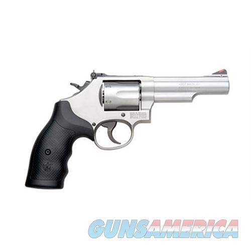 Smith & Wesson 66 357Mag 38Spl +P Ss 4.25 Blk Syn Grip 6Rd 162662  Guns > Pistols > S Misc Pistols