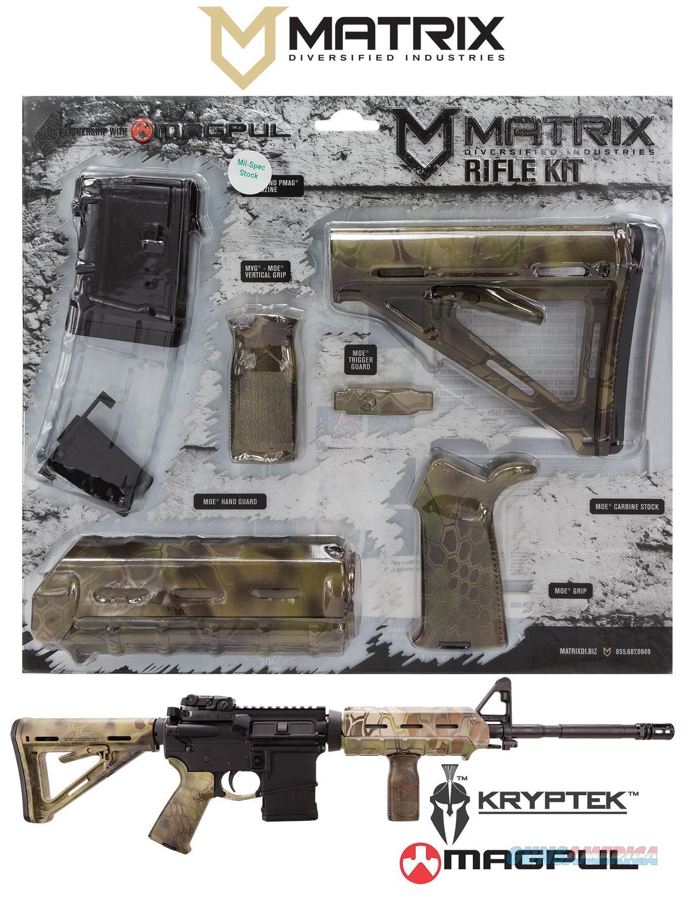 Mdi Magcom61-Km Kryptek Mandrake 10Rd Magpul Moe Kit MAGCOM61KM  Non-Guns > Gunstocks, Grips & Wood