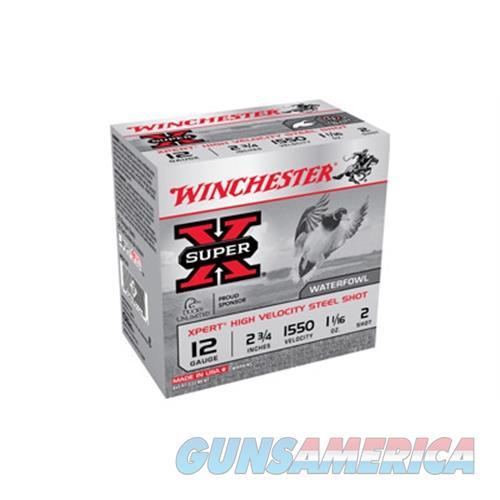 Winchester Xpert Hv Steel 12Ga 2.75'' 1-1/16 Oz. #2 25/Bx WEX122  Non-Guns > Ammunition
