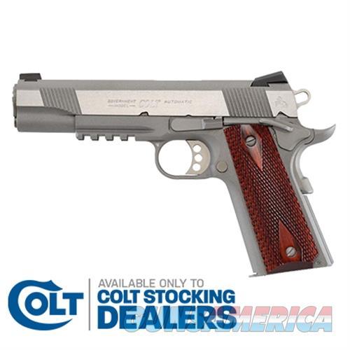 Colt Sts Govt Rail Gun 9Mm O1072RG  Guns > Pistols > C Misc Pistols