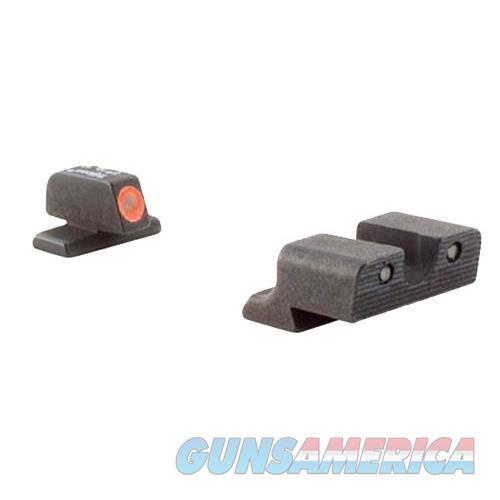 Trijicon Sp101o Hd Ns Springfield Xd/Xd(M) F/R Grn Tritium Orange Front Outline SP101O  Non-Guns > Iron/Metal/Peep Sights