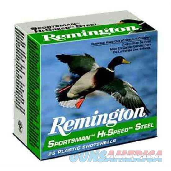 Remington Hi-Speed Steel 12Ga 3 1-1/4Oz #4 25/10 SSTHV12HM4  Non-Guns > Ammunition