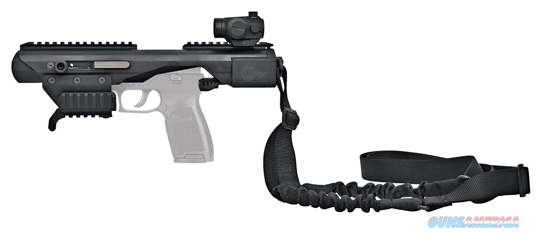 Sig Sauer Acpl Acp-L Adaptive Carbine Enhanced W/Red Dot & Bungee Sling Alum Blk ACPL  Non-Guns > Gun Parts > Misc > Rifles