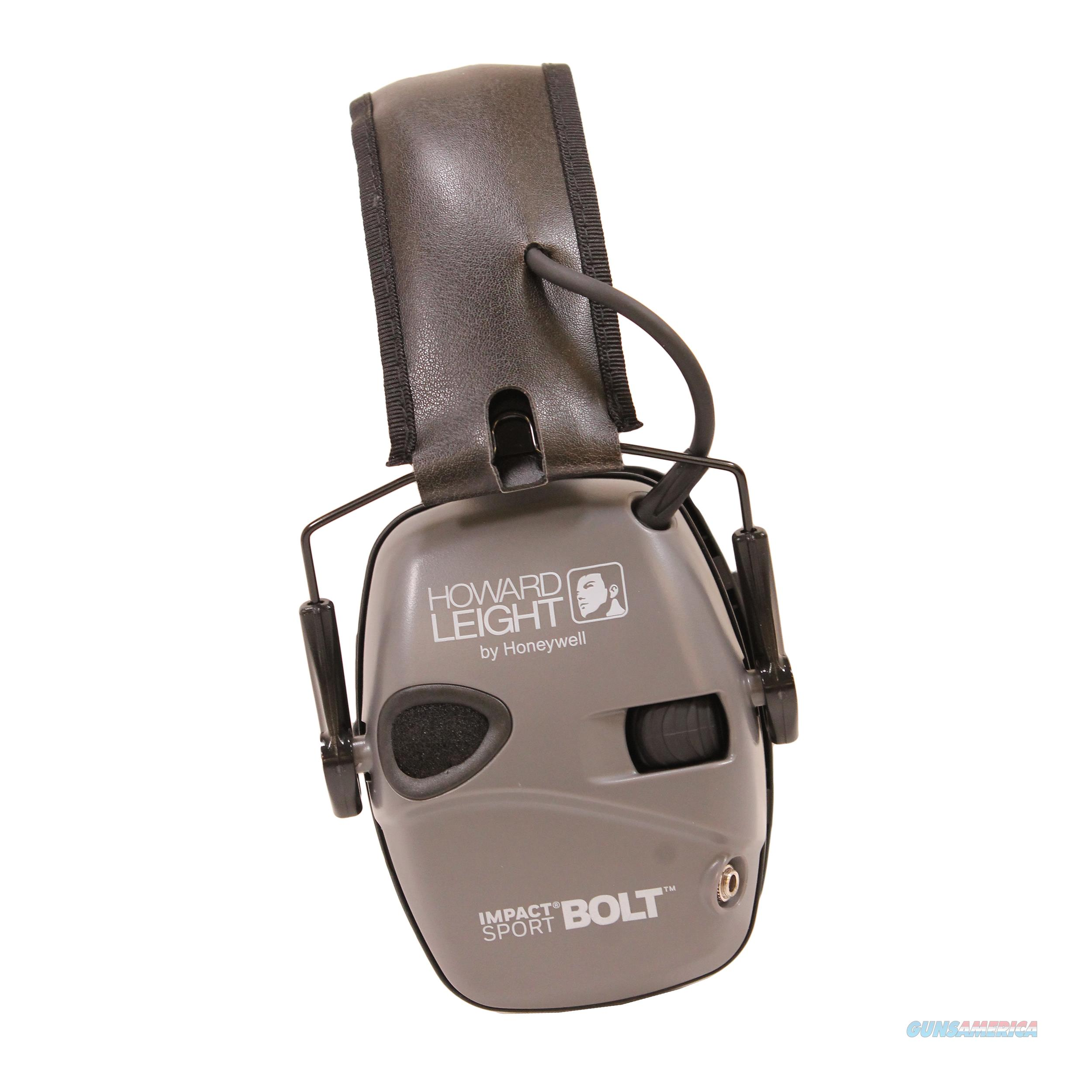 Howard Leight Impact Sport Bolt Electronic Earmuffs R-02232  Non-Guns > Hunting Clothing and Equipment > Clothing > Camo Outerwear