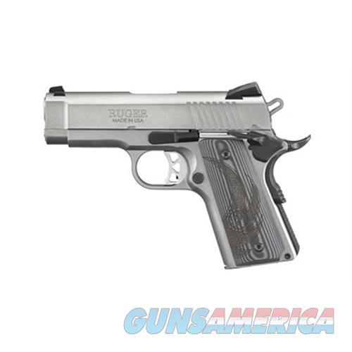 "Ruger Sr1911 45Acp 3.6"" Sts 7Rd 6762  Guns > Pistols > R Misc Pistols"