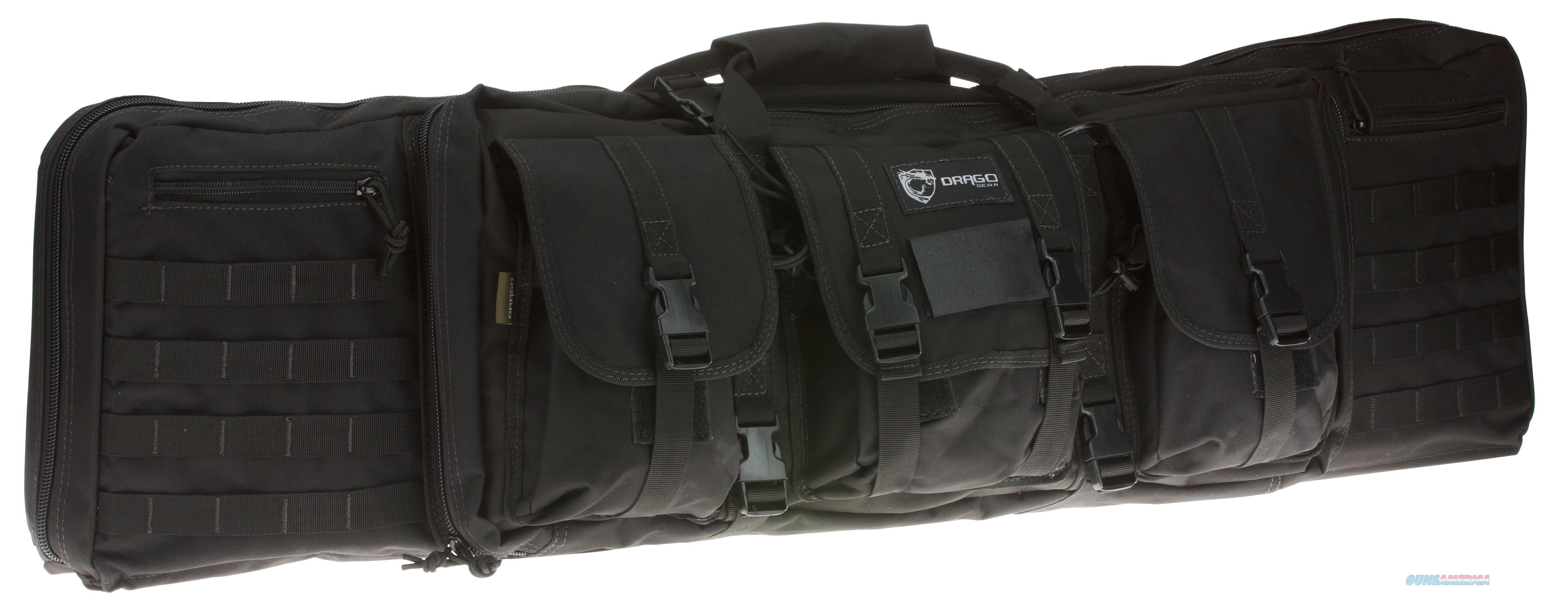 """Drago Gear 12-303Bl Single Gun Case 43"""" X 11.5"""" X 10"""" Exterior 600D Polyester Black 12-303BL  Non-Guns > Gun Cases"""