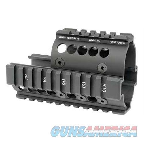 Midwest Industries Midwest Mini Draco Pstl Quad Rail Bk MI-AK-MD  Non-Guns > Gun Parts > Tactical Rails (Non-AR)