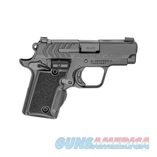 Sprgfld 911 380Acp Blk W/Grn Lsr PG9109VG  Guns > Pistols > S Misc Pistols