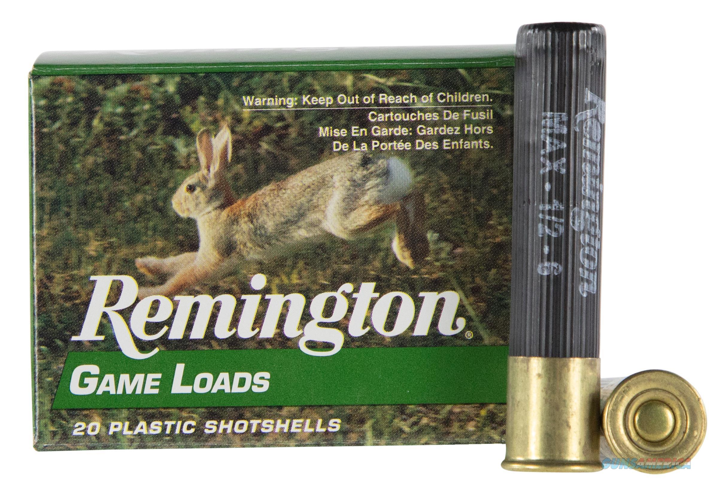 """Rem Gl4106 Promo Game Loads 410 Ga 2.5"""" 1/2 Oz 6 Shot 20Box/10Case 047700152509  Non-Guns > Ammunition"""