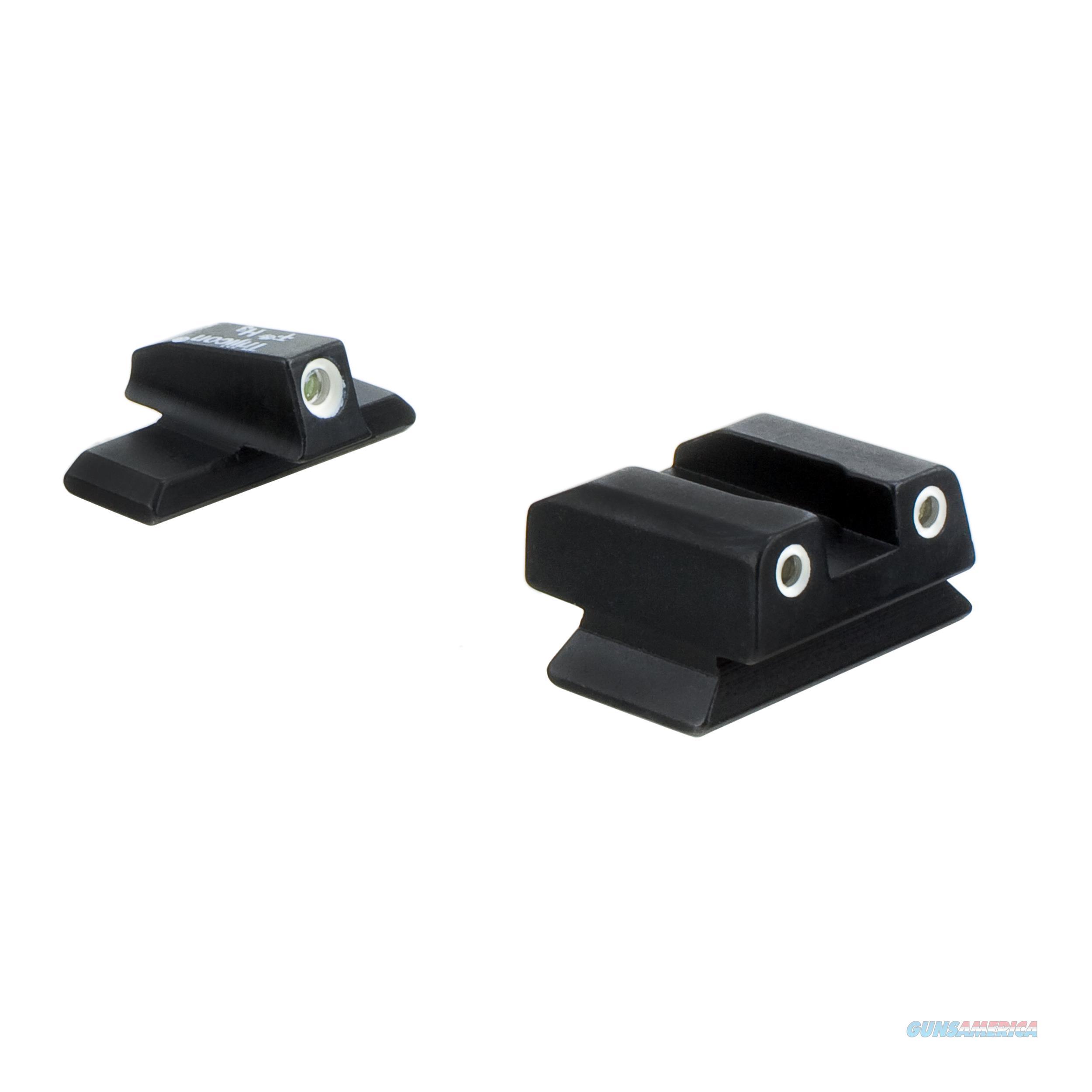 Trijicon Beretta Bright And Tough 3 Dot Night Sight Set BE14-C-600765  Non-Guns > Iron/Metal/Peep Sights