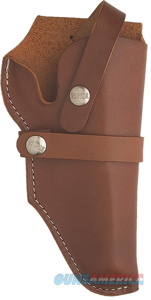 "Hunter Company 1190 Fits 3"" Barrel And 3"" Cylinder Brown Leather 1190-000-111453  Non-Guns > Holsters and Gunleather > Other"