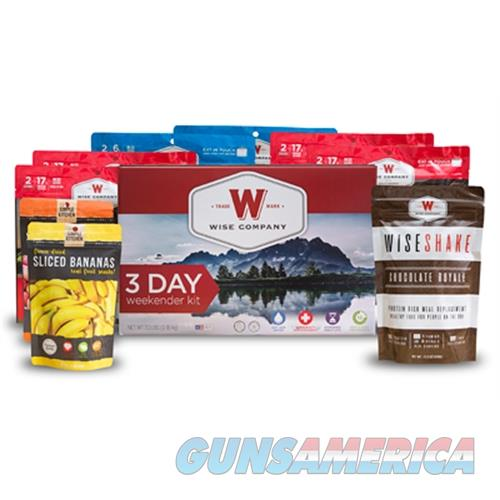 Wise Foods Wise 3 Day Weekender Kit 05-916  Guns > Rifles > W Misc Rifles