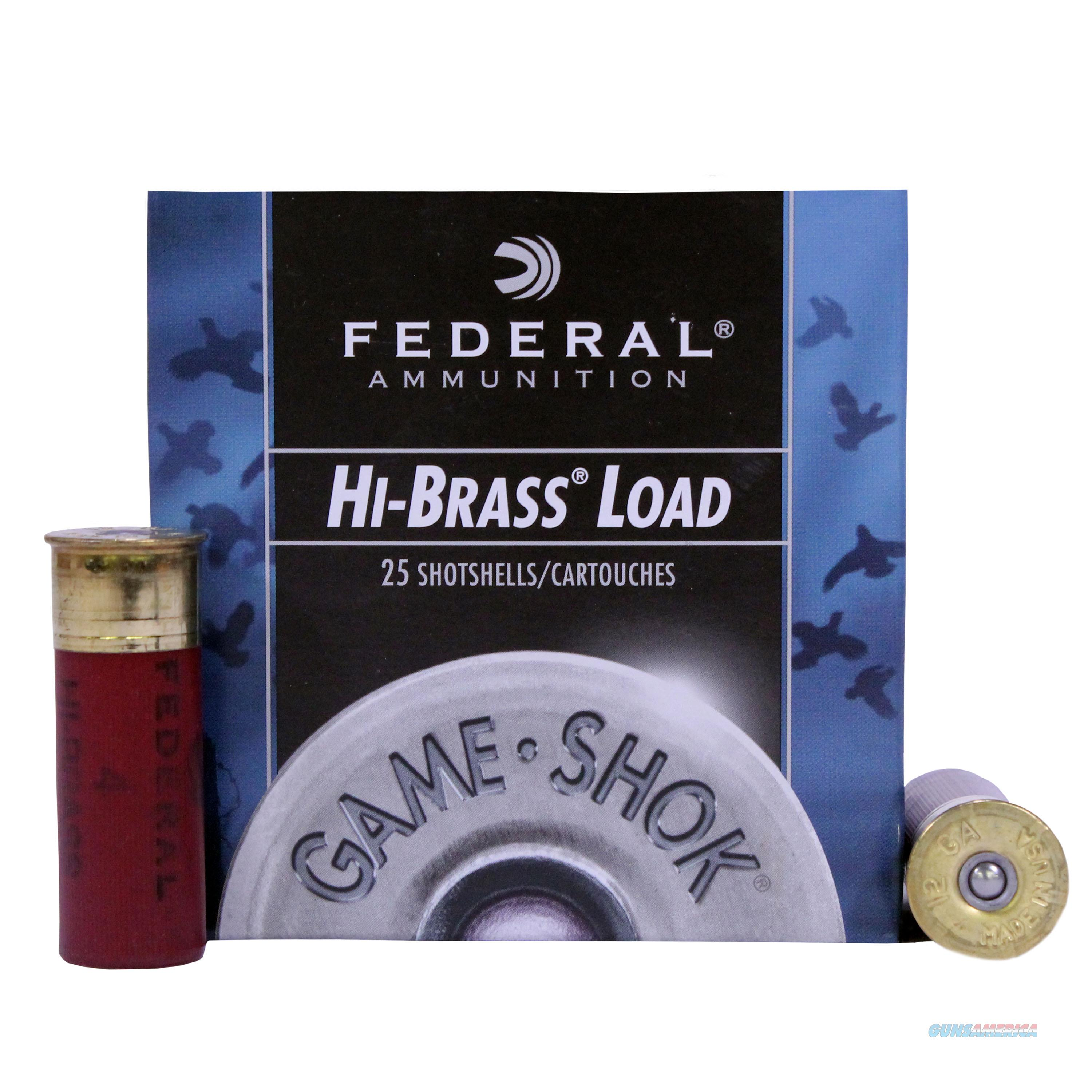 Federal 12 Gauge H1264  Non-Guns > Ammunition