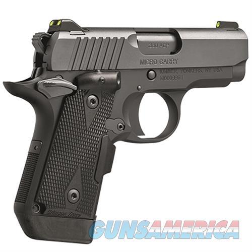 Kimber 380Acp Micro Deep Cover KIM3300096  Guns > Pistols > K Misc Pistols