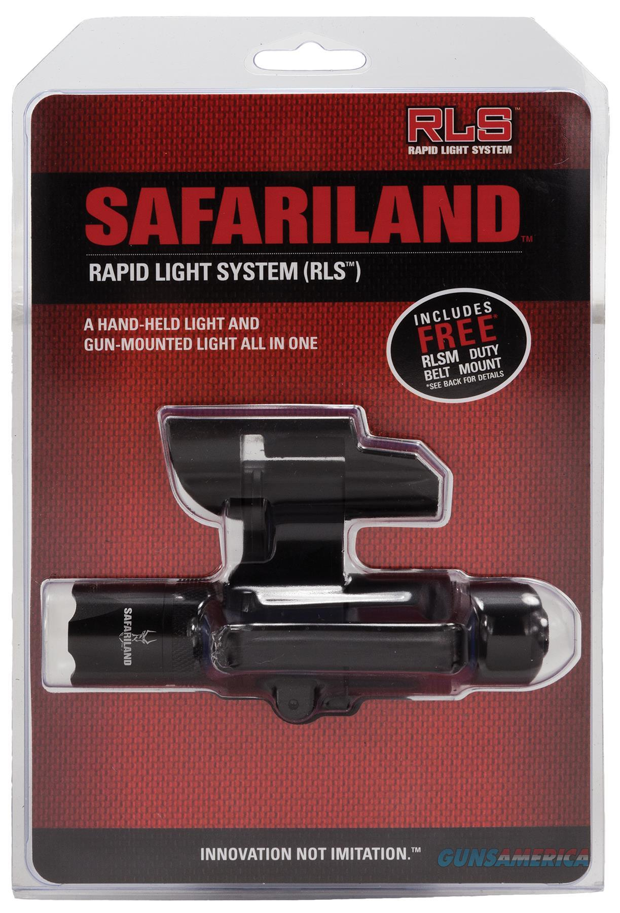 Safariland Rls13pic1 Rapid Light System & Mount Ambidextrous Aaa(3) Black RLS13PIC1  Non-Guns > Gun Parts > Misc > Rifles