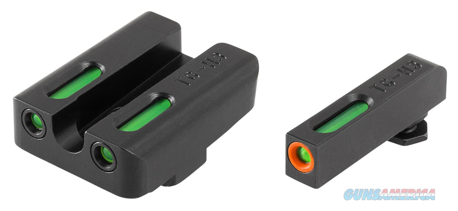 Truglo Tg13gl2pc Tfx Pro Glock 20/21/25/28/29/30/31/32/37/40/41 Tritium/Fiber Optic Green Tritium/Fiber Optic W/Orange Outline Tritium Green Black TG13GL2PC  Non-Guns > Iron/Metal/Peep Sights