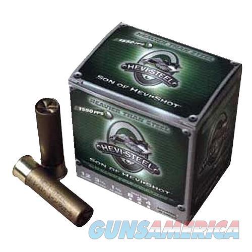 "Hevishot 60001 Hevi-Steel 12 Gauge 3"" 1-1/4Oz 1 Shot 25Box/10Case 60001  Non-Guns > Ammunition"