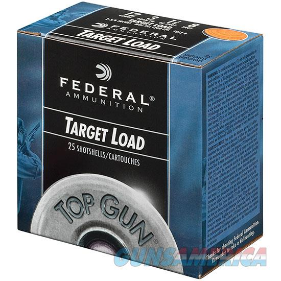 Federal Top Gun 12Ga 2.75 1-1/8Oz #8 2.75De 25/10 029465019815  Non-Guns > Ammunition