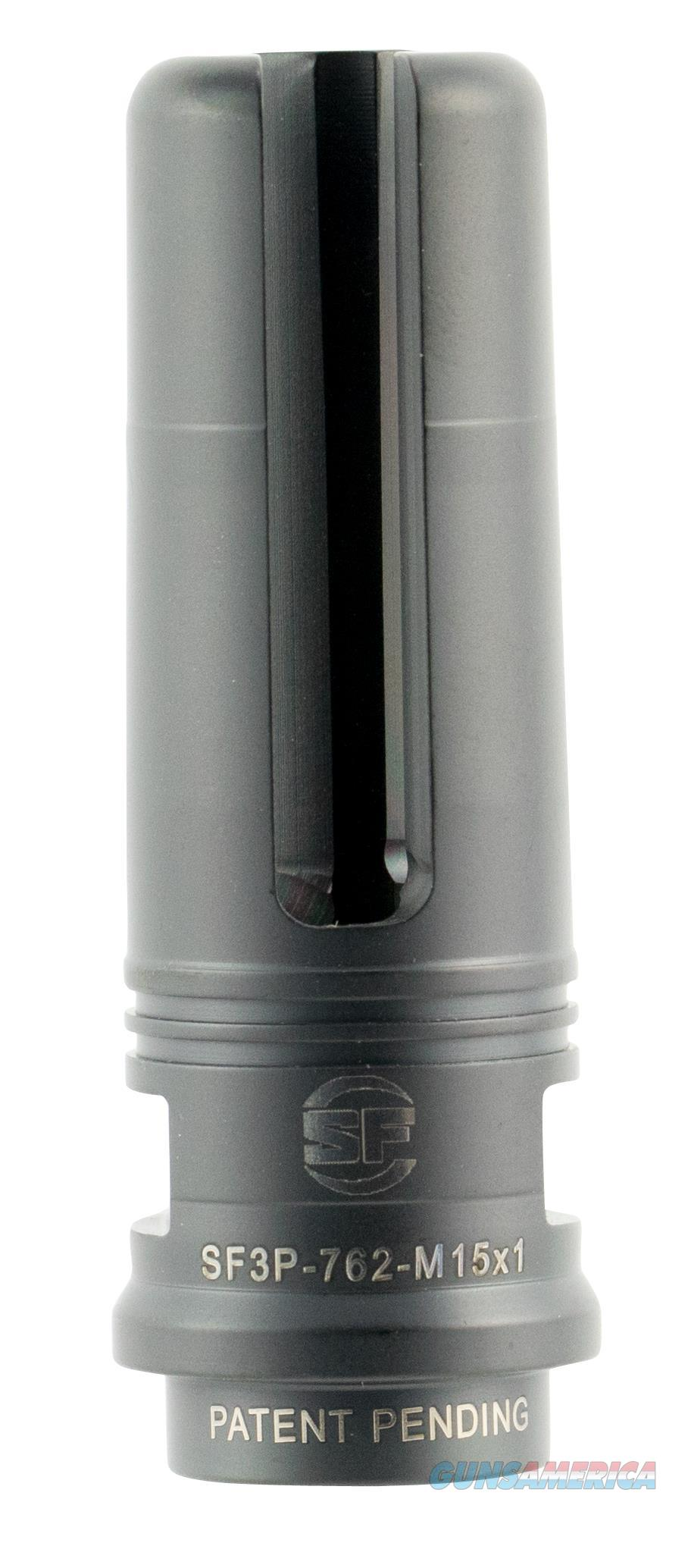 "Surefire Sf3p762 Suppressor Adapter Flash Hider Hk417 7.62 51Mm Stainless Steel 2.8"" SF3P762  Non-Guns > Gun Parts > Misc > Rifles"