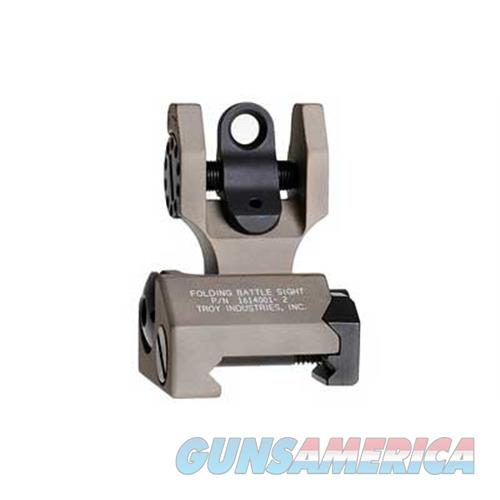 Troy Industries Inc Troy Fldng Rear Battle Sight Fde SSIG-FBS-R0FT-00  Non-Guns > Iron/Metal/Peep Sights